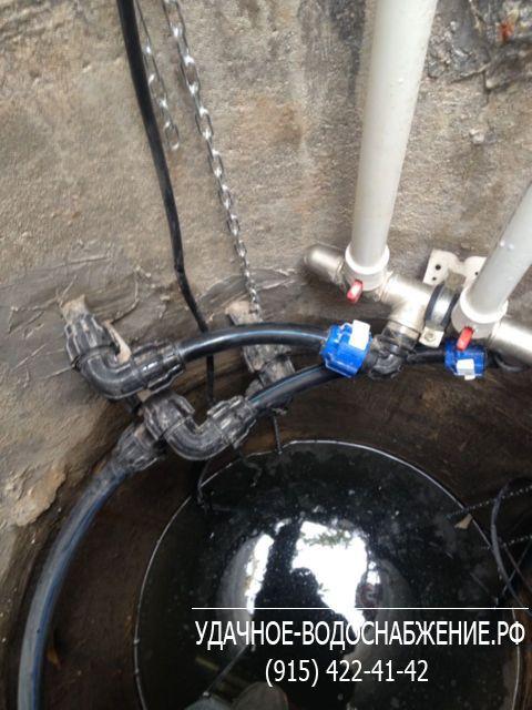 От скважины до дома водопровод своими руками 263
